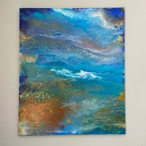 Ocean art canva